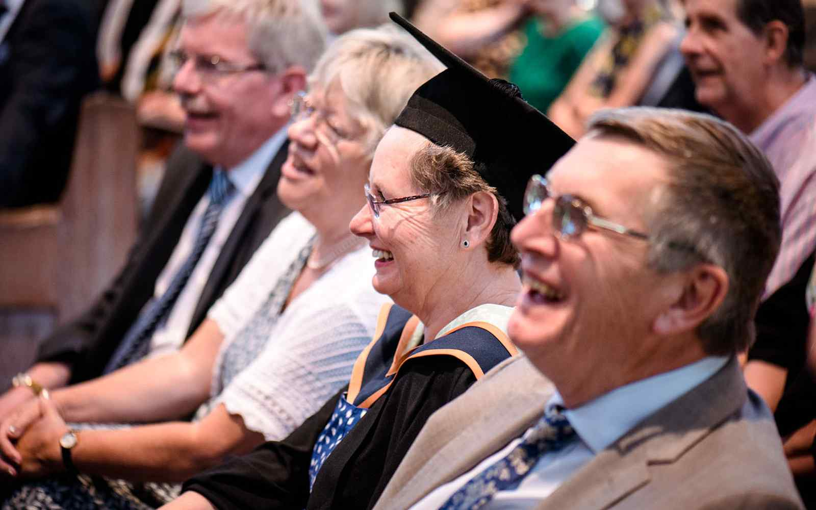 Teaching alumni at Cert Ed Honorary Degree ceremonies