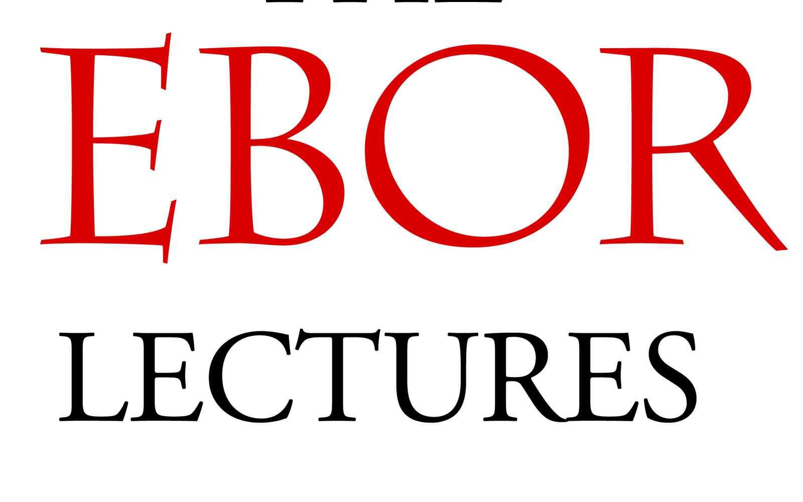Ebor lectures logo