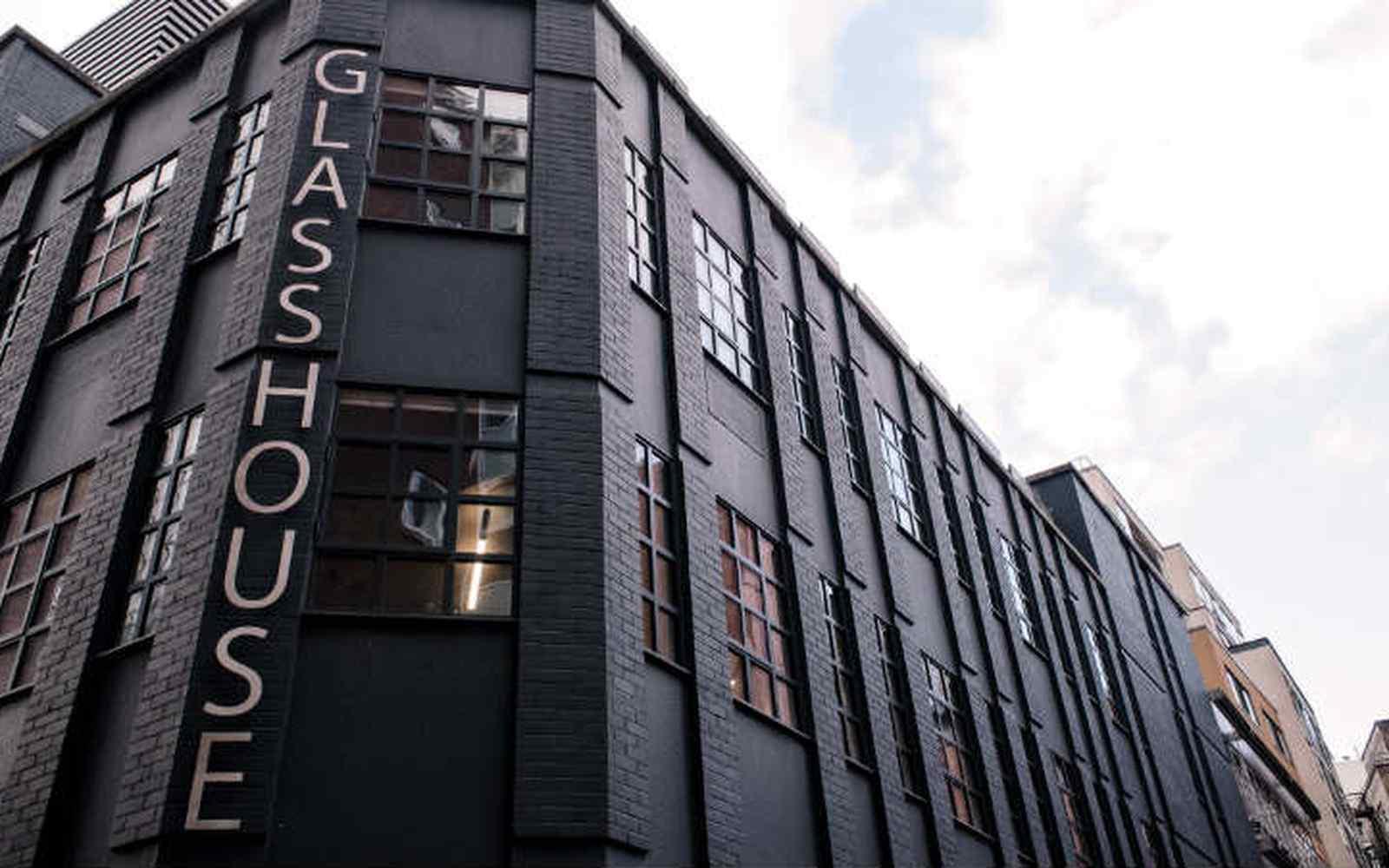 External shot of Glasshouse Yard