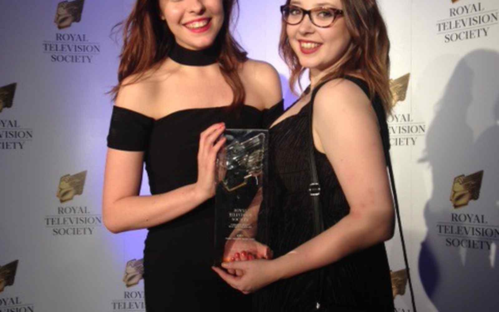 RTS Award winners for Eden film