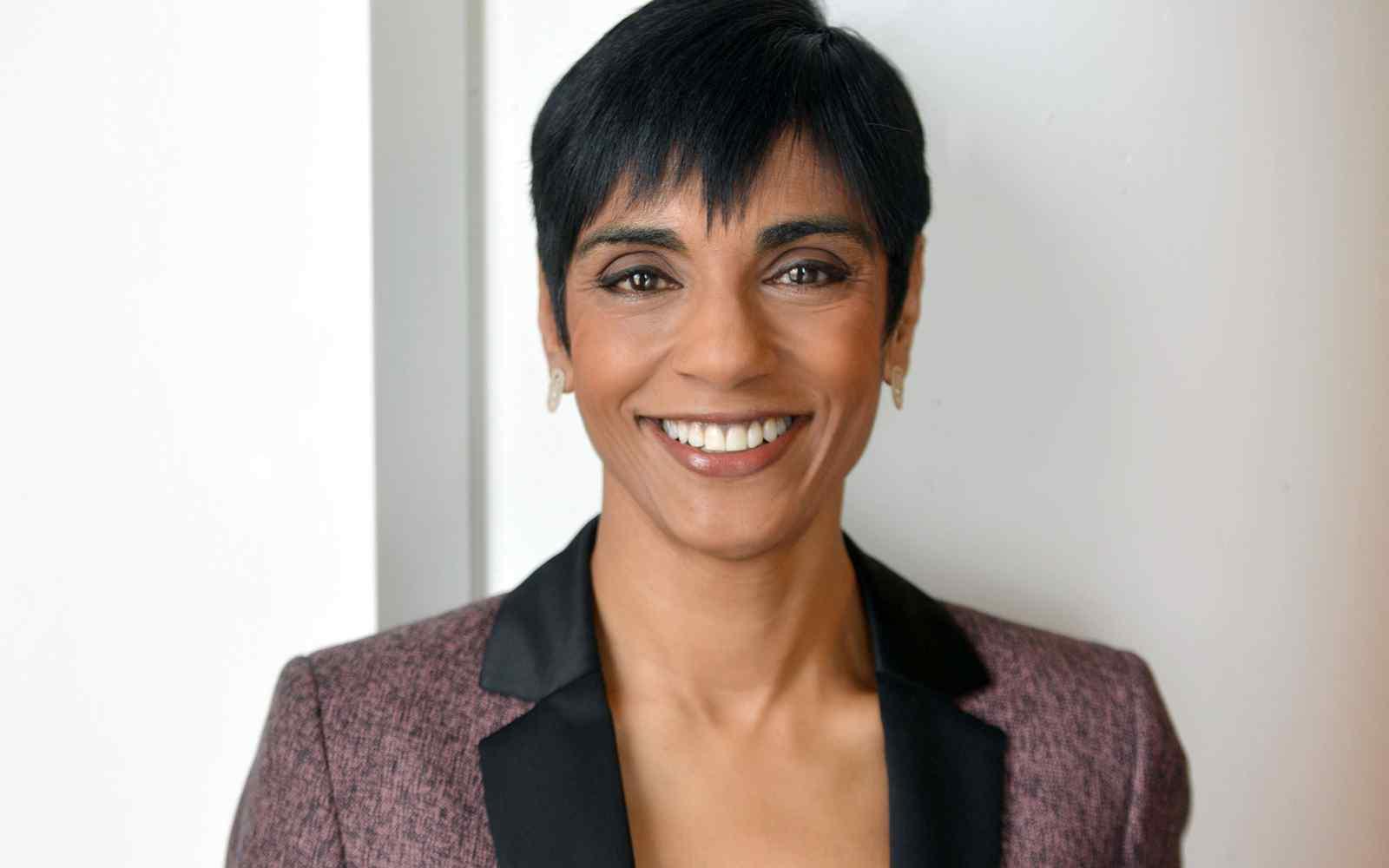 Close up profile headshot of Reeta Chakrabarti