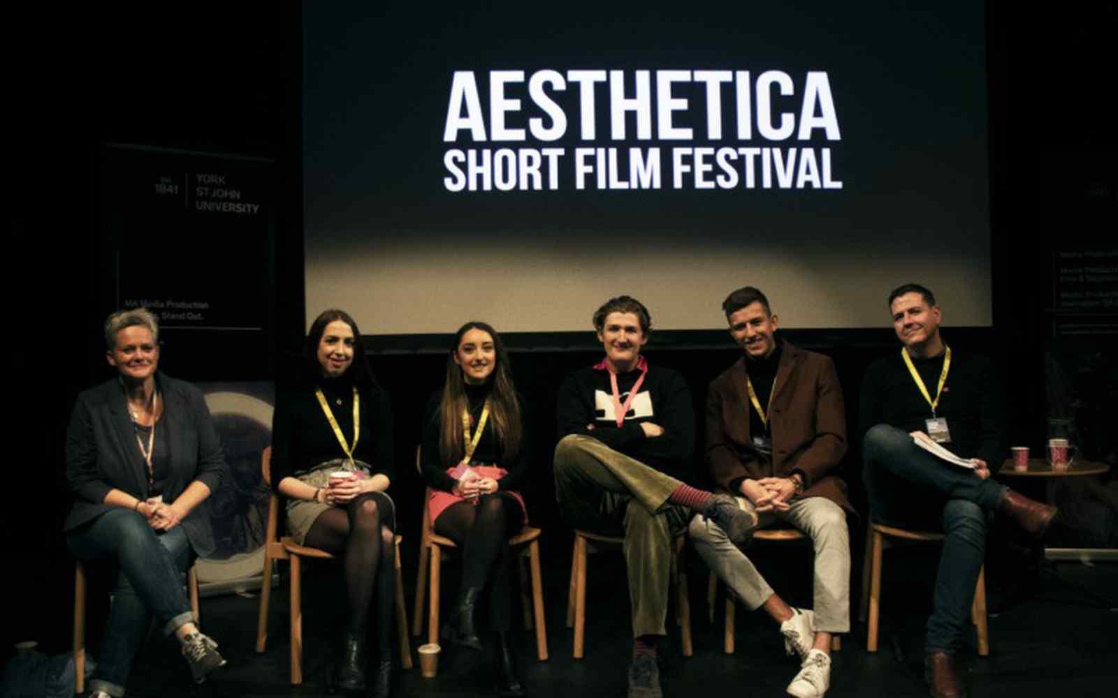 Filmmaker panel from the Aesthetica Short Film Festival showcase