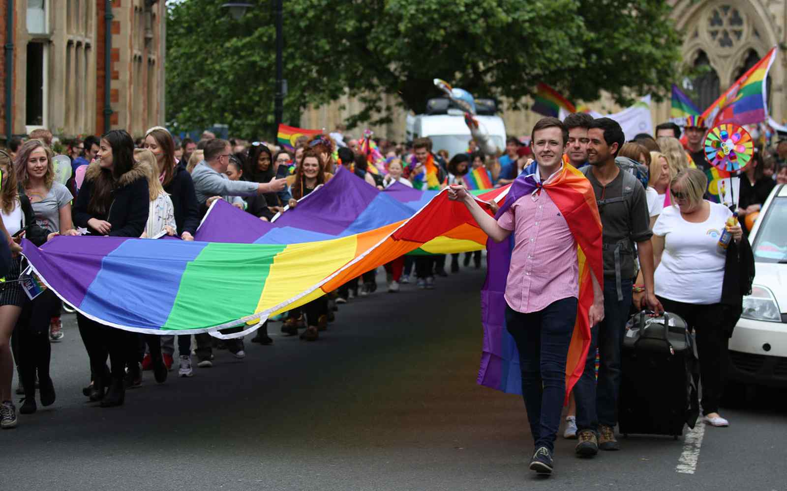 York Pride parade