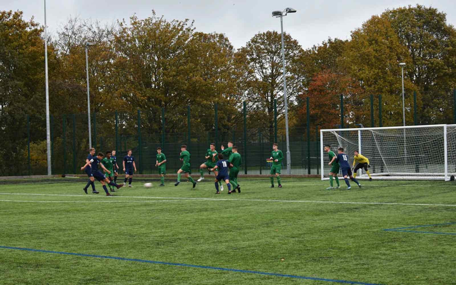 i2i Academy play match against Sheffield Wednesday Academy team