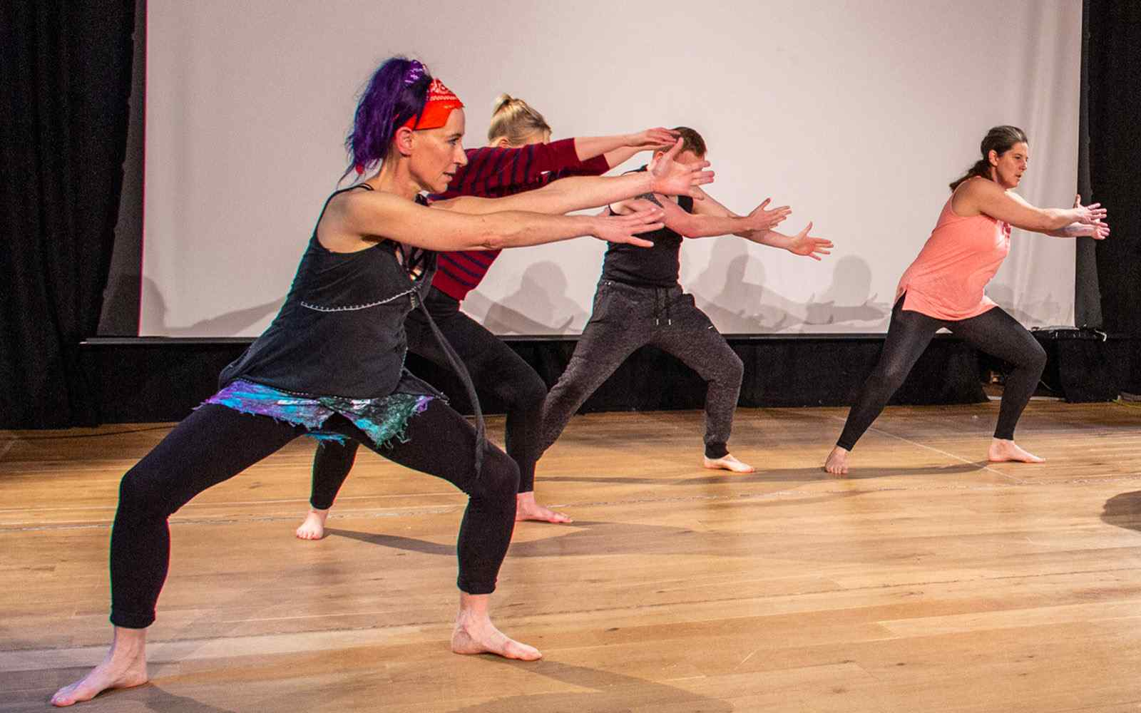 Performance from movement students
