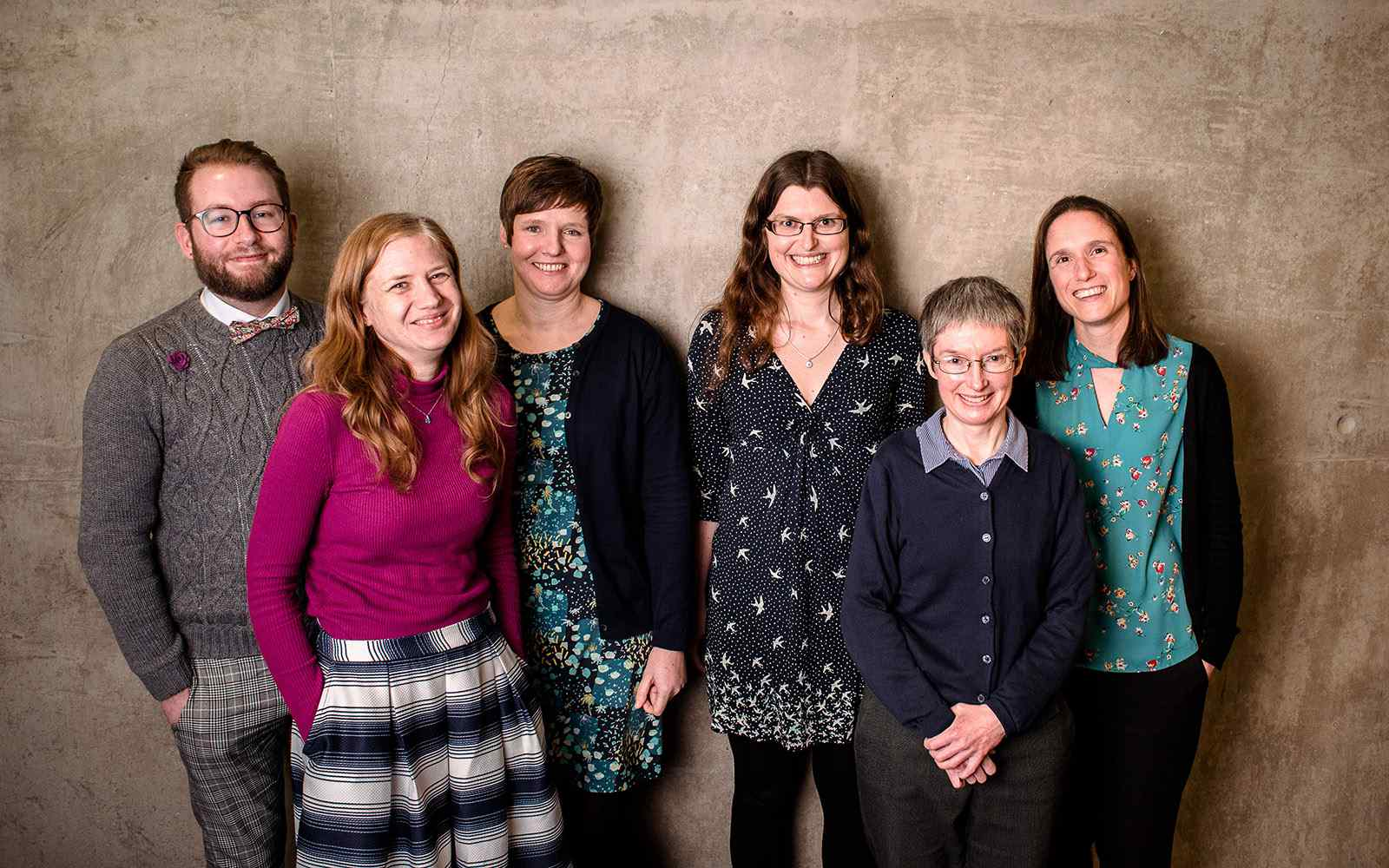 A photo of the Academic Services Team (as of 2018/19)