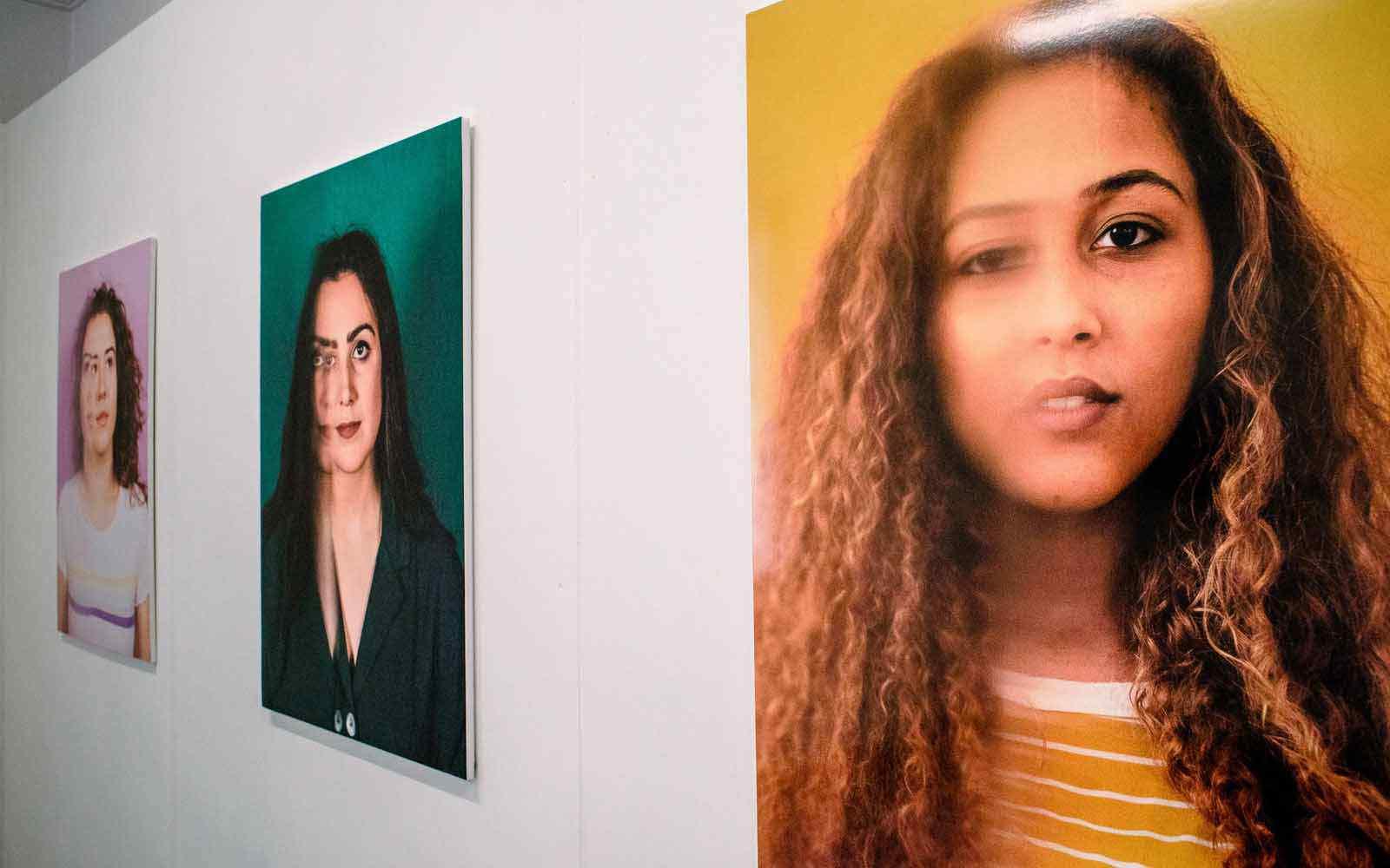 Photos in exhibition