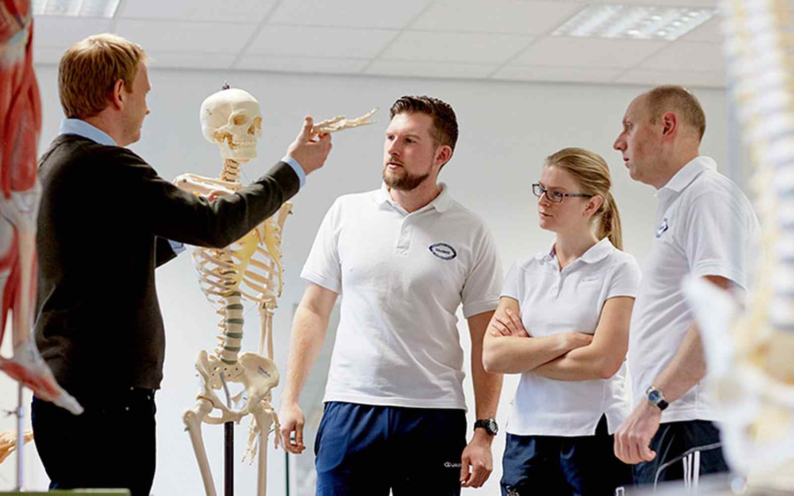 Physiotherapy demonstration
