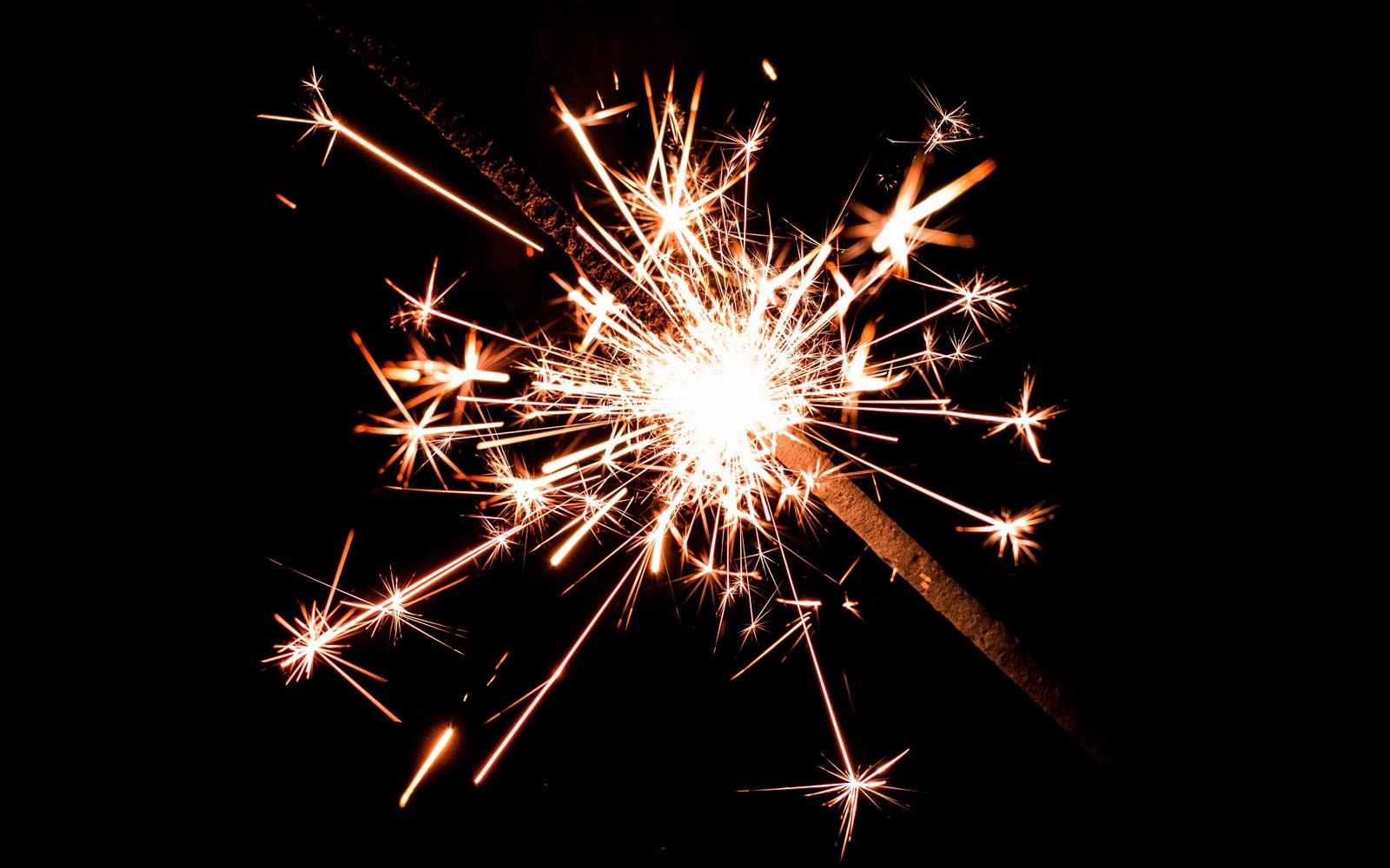 Firework spark
