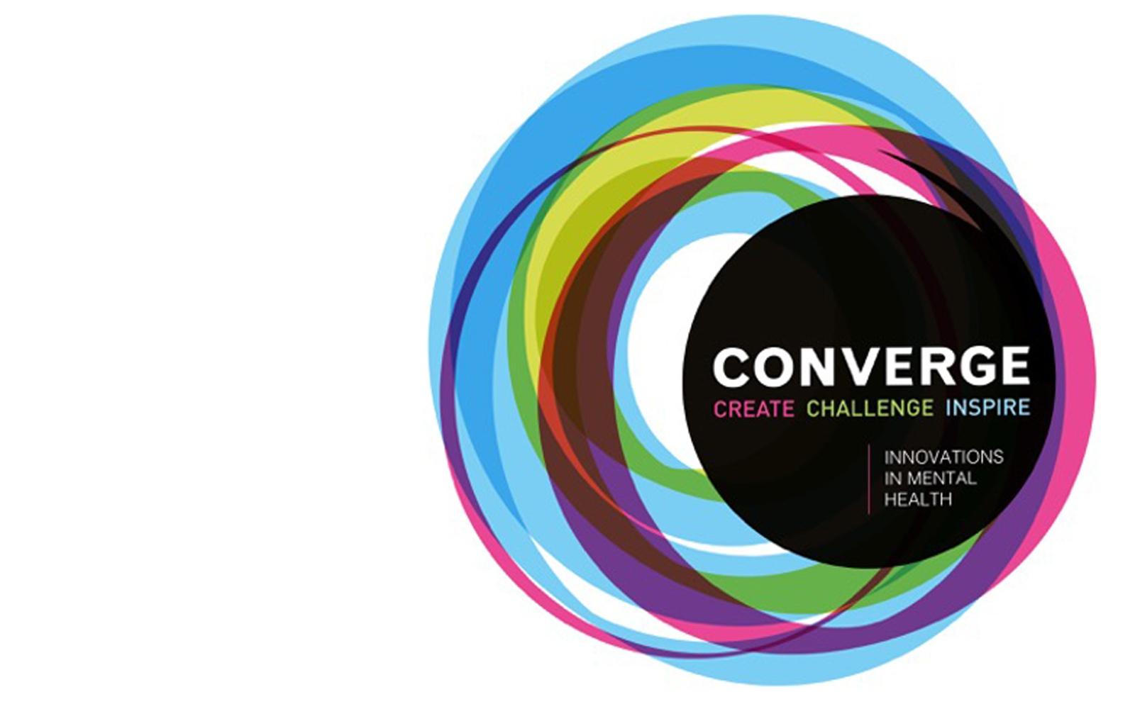 Converge logo - create challenge inspire