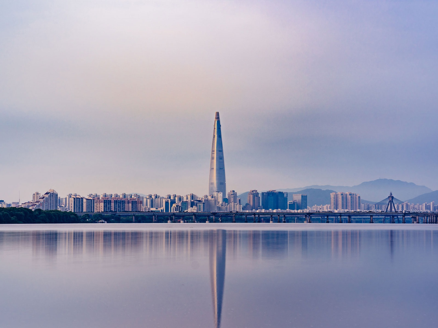 Seoul city landscape