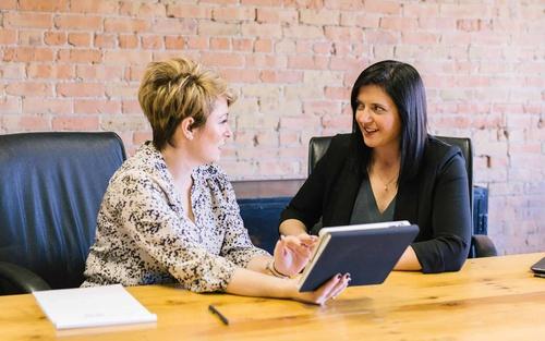 Business consultancy conversation