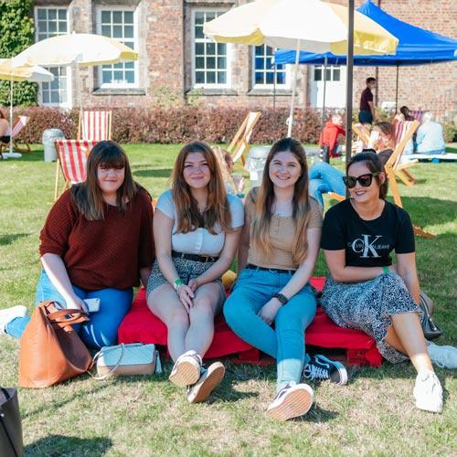 Students enjoying our YSJ Festival event