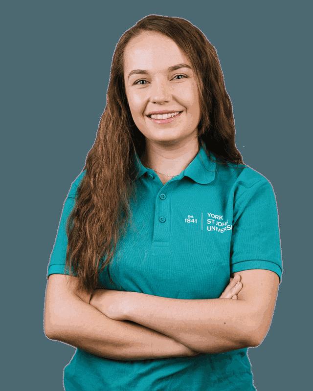 Student ambassador Anna Lowden