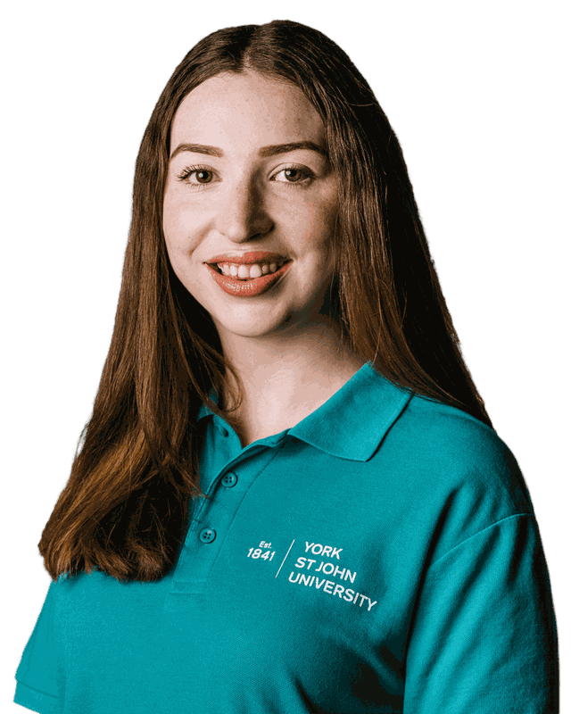 Student ambassador Charlotte Kelly